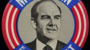 George McGovern 1972 campaign button
